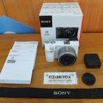 Sony A6000 Lensa 16-50mm OSS White Sc 6.Xxx