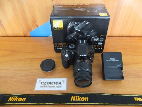 Nikon D5200 Kit 18-55mm SC 900 Mulus