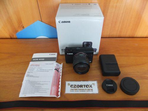 Canon M100 Kit 15 – 45mm Flip Screen WIFI Touchscreen