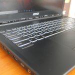 MSI GL62 Ci7-7700HQ Ram 16gb HDD 1tb + SSD 128gb GTX 1050 Ti