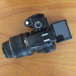 Nikon D5000 Kit AF-S Nikkor 18-55mm Mulus
