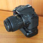 Nikon D5300 Kit AF-S 18-55mm Wi-Fi Plus BG