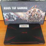 Asus Gaming TUF FX504GE SSD 256 GB + HDD 1 TB 1050 TI