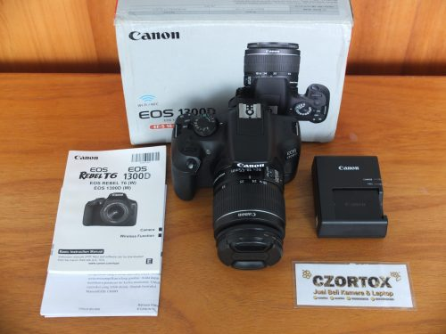Canon 1300D Wi-Fi Lensa Kit 18-55mm