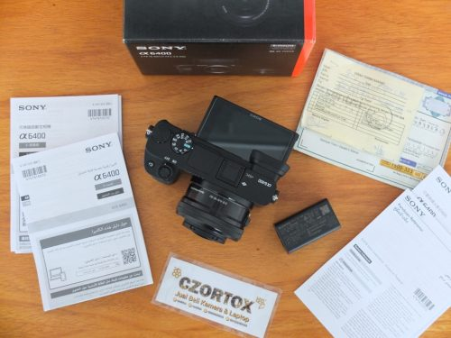 Sony A6400 Lensa 16-50mm OSS Black Sc 4.Xxx