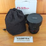 Samyang 8mm F3.5 UMC Fish-Eye CS II For Canon Mulus