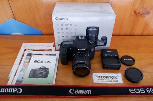 Canon 60D Lensa kit SC 9.xxx Mulus