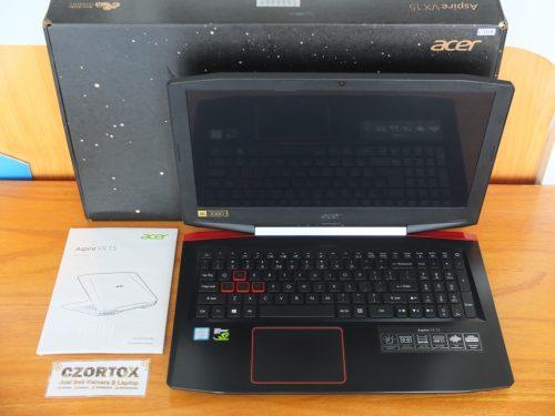 ACER VX15 CI7 Ram 8GbB SSD 128GB GTX 1050 4 GB