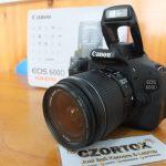 Canon 600D Lensa EF-S 18-55 Sc 12.Xxx