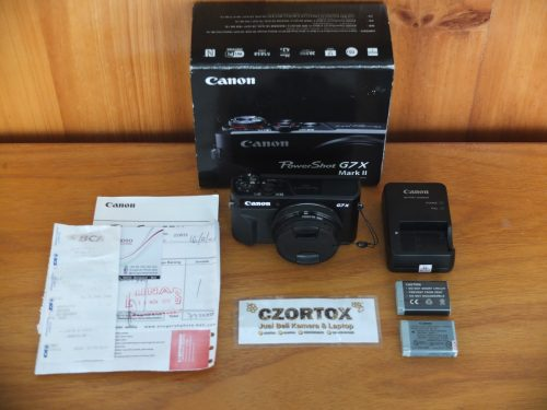 Canon G7X Mark II Flip Touchscreen