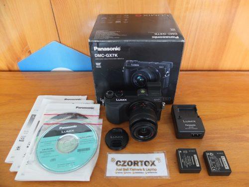 Lumix GX7 Lensa 14-42mm WIFI