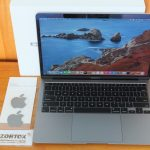 Macbook Air 2020 MWTJ2 Ci3 SSD 256gb Retina Umur 3 Bulan Ibox