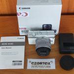 Canon M100 Kit 15 – 45mm White WIFI Touchscreen