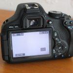 Canon 600D Lensa EF-S 18-55 Sc 5Xxx