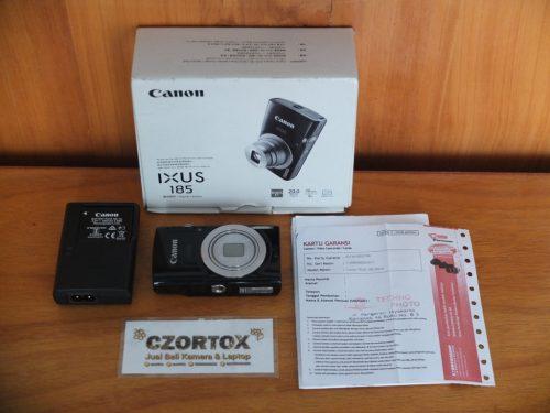Canon Digital IXUS 185 Black