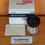 Sigma art 60mm F2.8 For Sony
