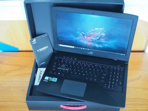 Asus ROG GL503G Core i7 8750H Nvdia GTX 1050Ti 4gb