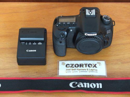 Canon 60D Body Only SC 8.xxx Mulus