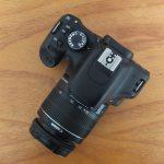 Canon 550D Lensa kit 18-55mm SC 4.XXX