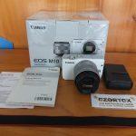 Canon M10 Lensa 15-45mm Flip WIFI
