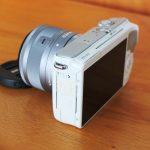 Canon M10 Kit 15-45mm WiFi Mulus