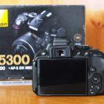 Nikon D5300 18-55 f 3.5-5.6 VR II Wifi