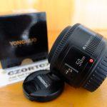 Lensa Yongnuo 50mm F1.8 For Canon