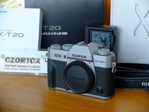 Fujifilm X-T20 Silver Body Only