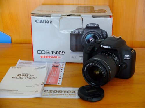 Canon Eos 1500D Kit 18-55mm Like New