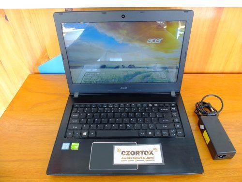 Acer Aspire E5 475G i3 6006U Nvidia 940M SSD 256GB+HDD 500GB