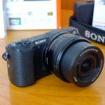 Sony A5100 Lensa 16-50mm OS Black