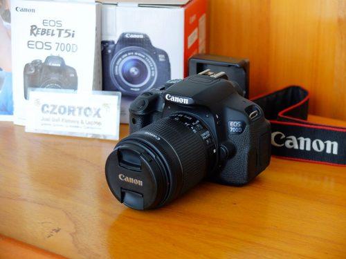 Canon 700D Kit 18-55mm IS II Mulus