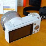 Sony A5100 Lensa 16-50mm OS White Like New