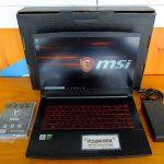 MSI GF65 i7 10750H Ram 8gb SSD 512gb GTX 1660 Ti Like New